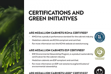 Certifications and Green Initiatives