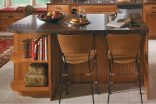 Island with Radius Shelf End Unit-1