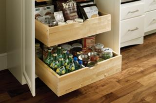 Medallion At Menards Cabinetry Pantry Storage And Food Organization